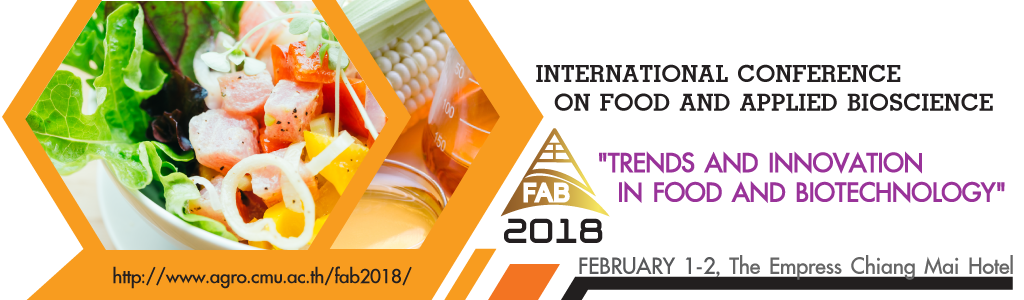 International Conference on Food and Applied Bioscience 2018